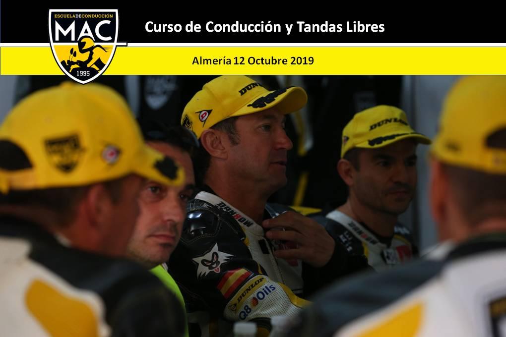 Fotografías curso Circuito Andalucía 12 octubre 2019